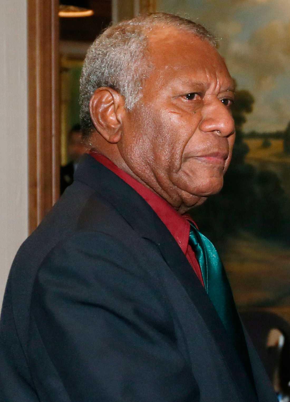 Vanuatus president Baldwin Lonsdale har utfärdat undantagstillstånd.
