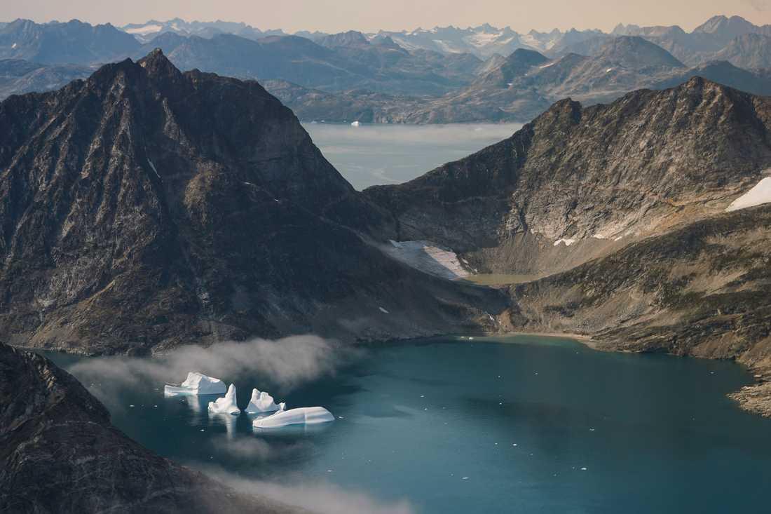Mätningarna gjordes på flertal olika platser i Arktis, bland annat Grönland. Arkivbild.