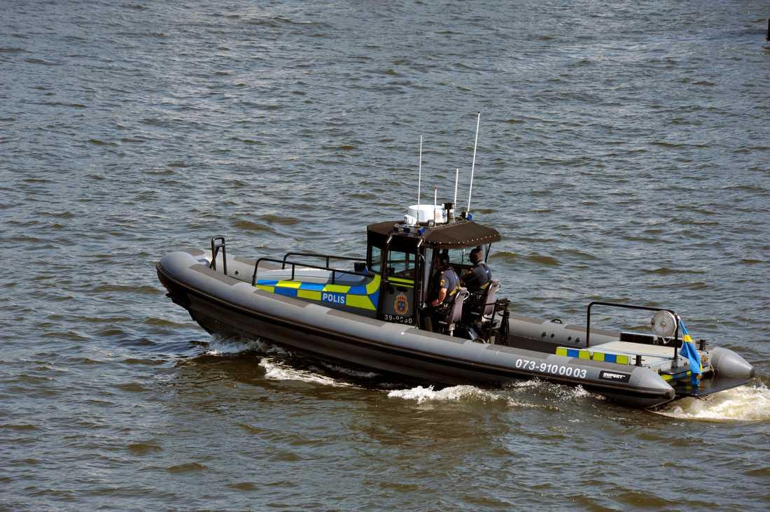 Fler kör vårdslöst i sjötrafiken, enligt polisens statistik för det första halvåret av 2020. Arkivbild.