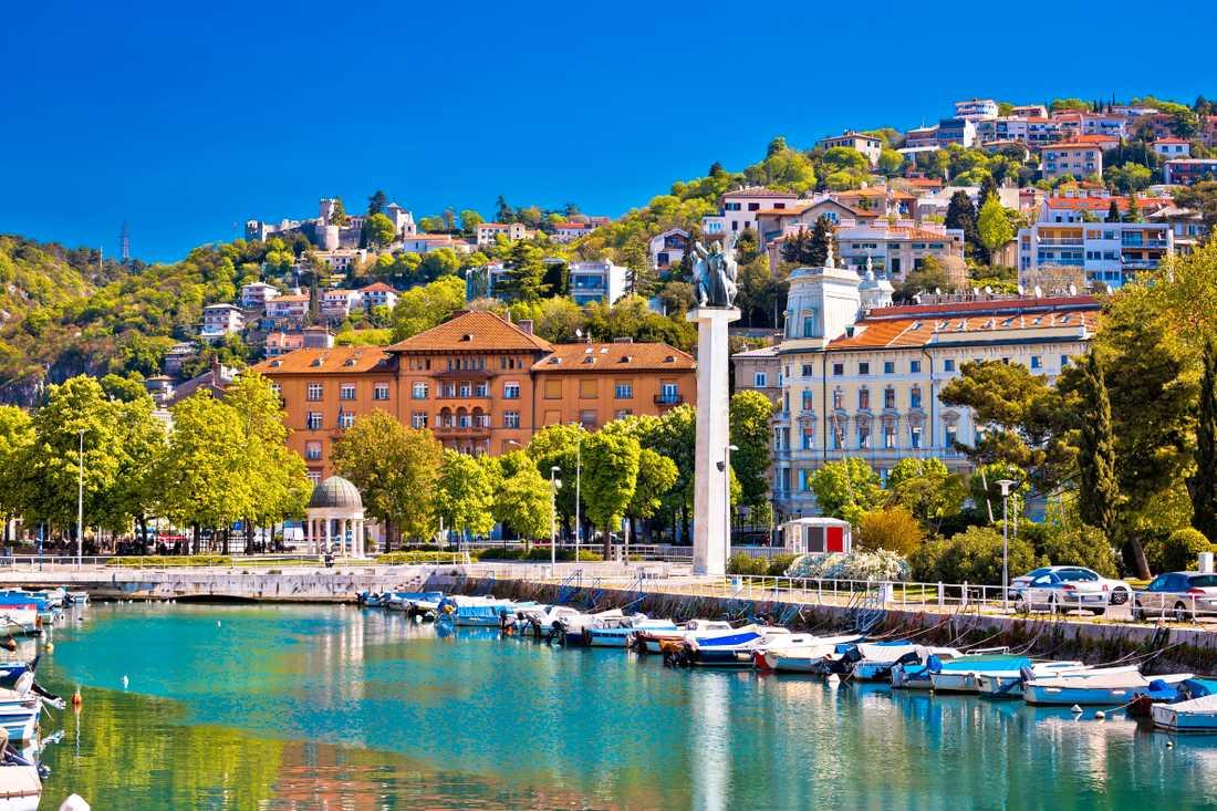Rijeka är en stad där många hoppas på mer turism.
