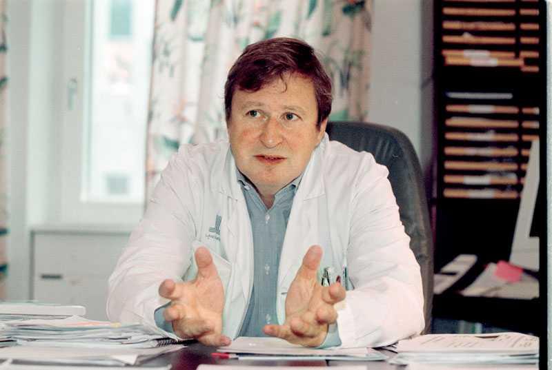 Claude Marcus, professor i pediatrik och huvudman för Rikscentrum för svår övervikt hos barn vid Karolinska Universitetssjukhuset i Huddinge.