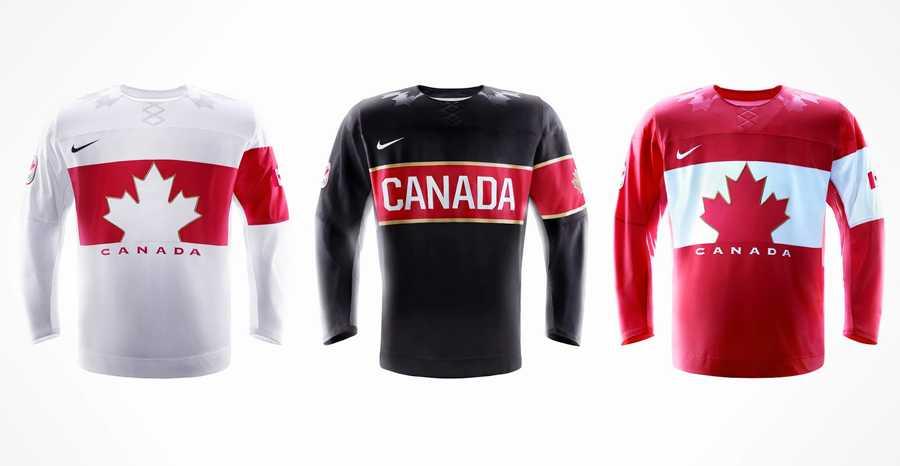 Kanadas OS-tröjor.