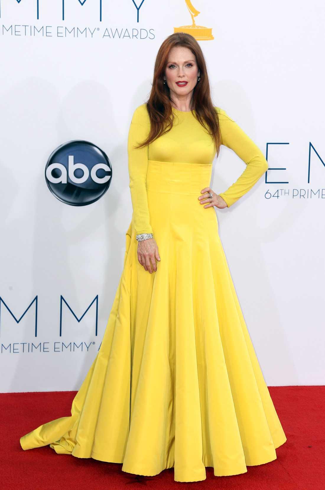 Julianne Moore På Emmy-galan. Foto: AP