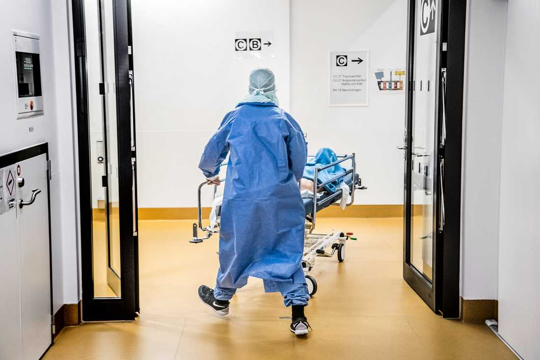 Dödligheten i Sverige bland personer födda i Finland är 145 per 100000 invånare. Arkivbild.