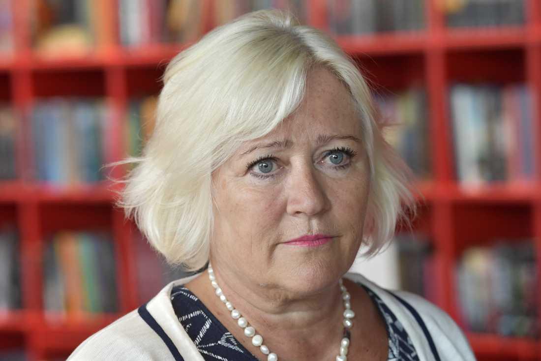 Barnombudsmannen Elisabeth Dahlin. Arkivbild.