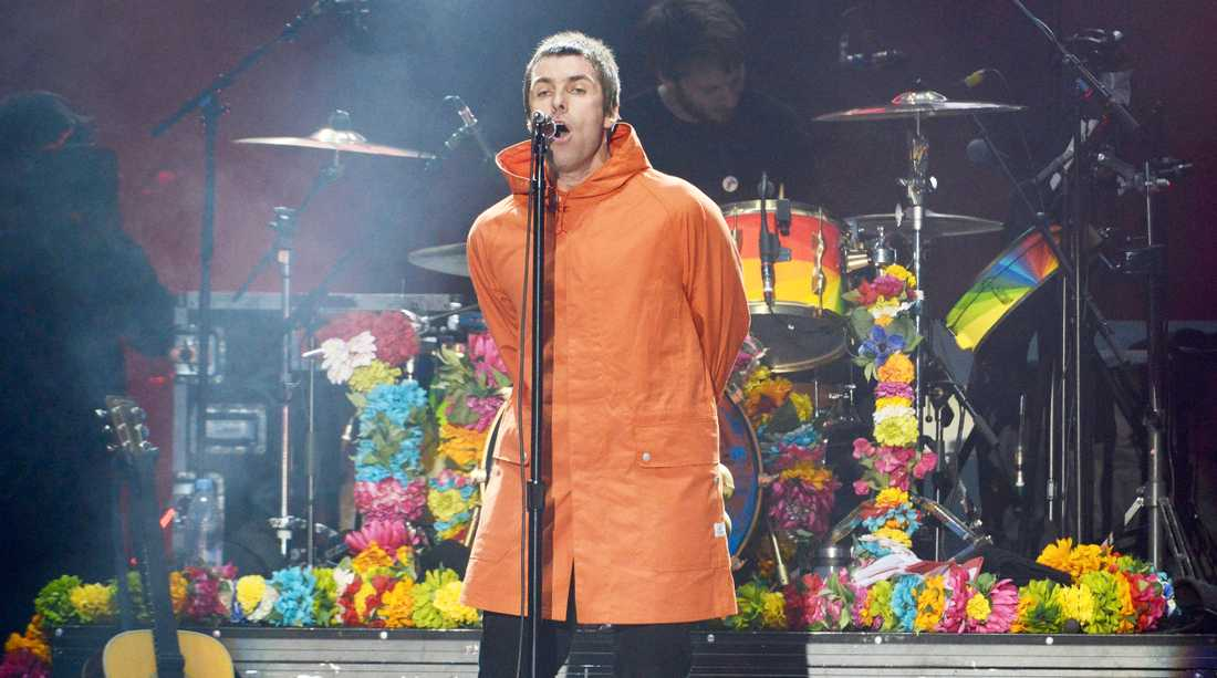 Liam Gallagher.