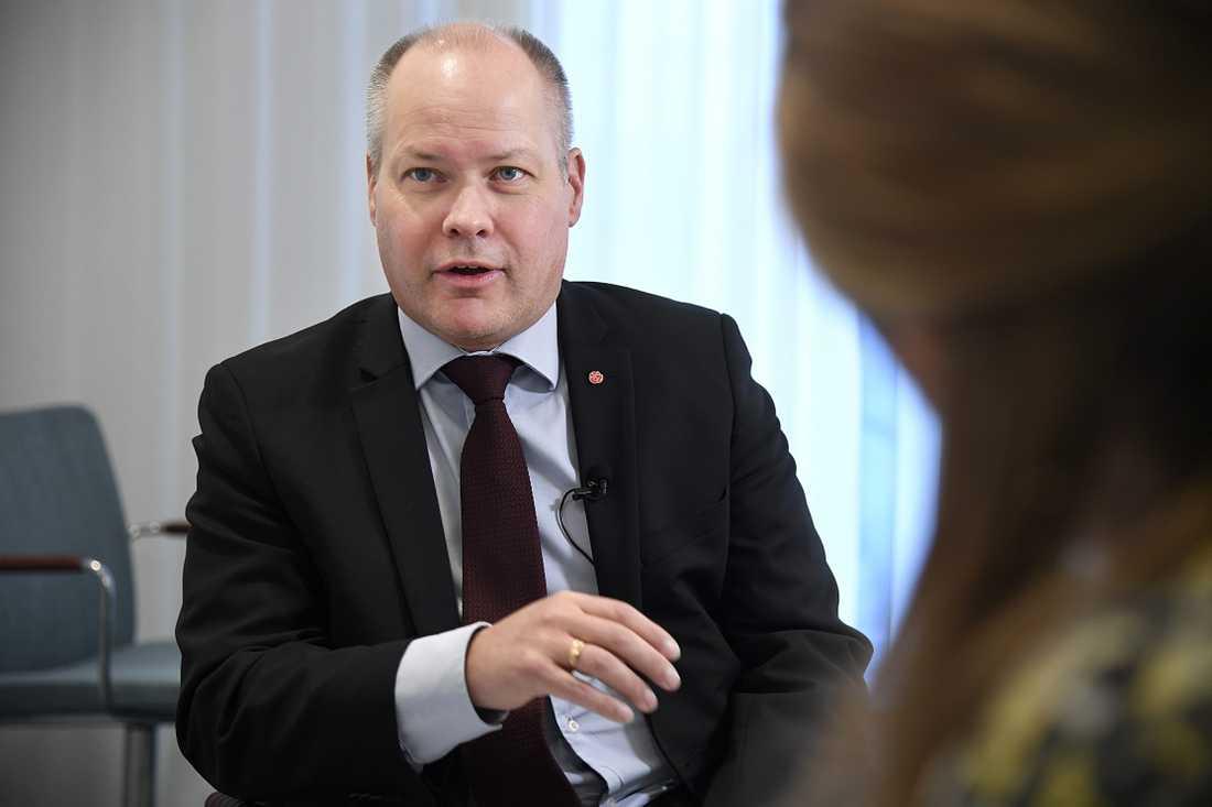Justitieminister Morgan Johansson.