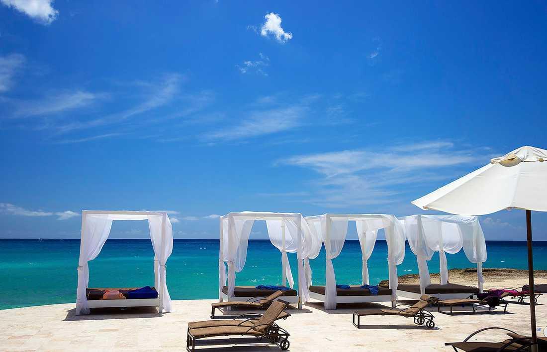Bo direkt på stranden i Bayahibe i Dominikanska republiken.
