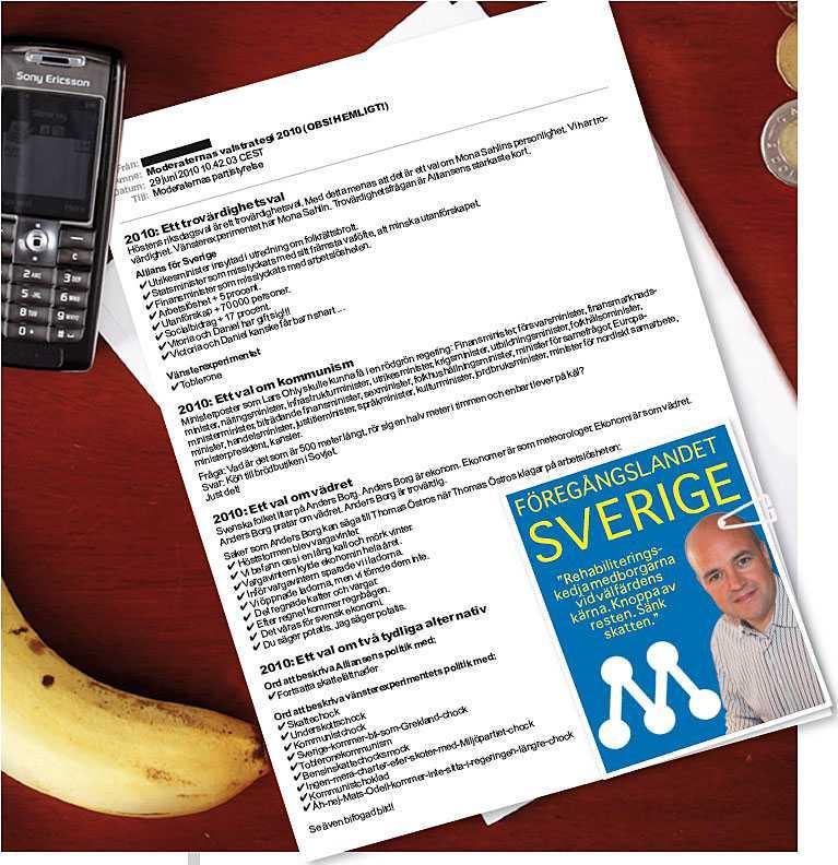 Aftonbladets ledarsidas avslöjande: Moderaternas hemliga valstrategi.