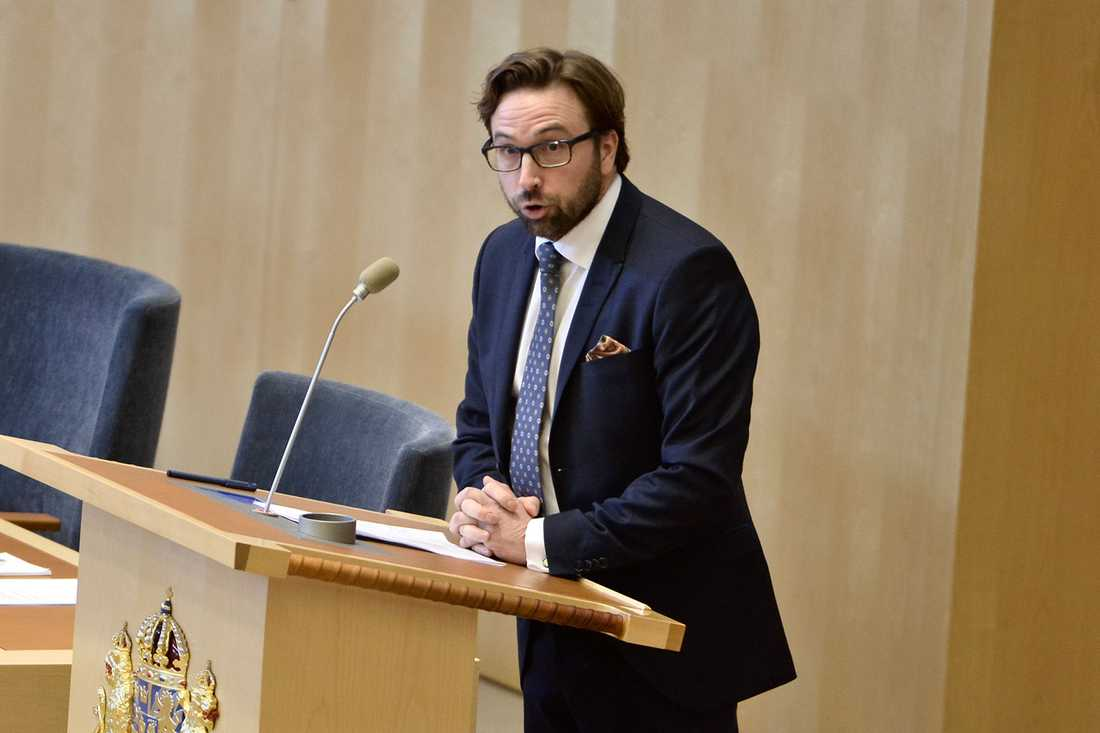 Fredrik Malm (L), utrikespolitisk talesperson.