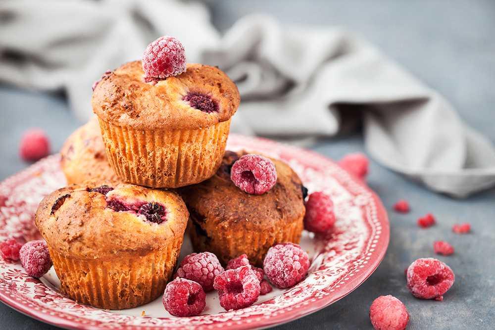 choklad hallon muffins recept