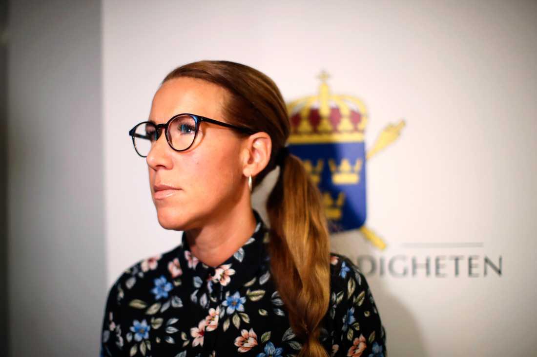 Kammaråklagare Linda Schön. Arkivbild.