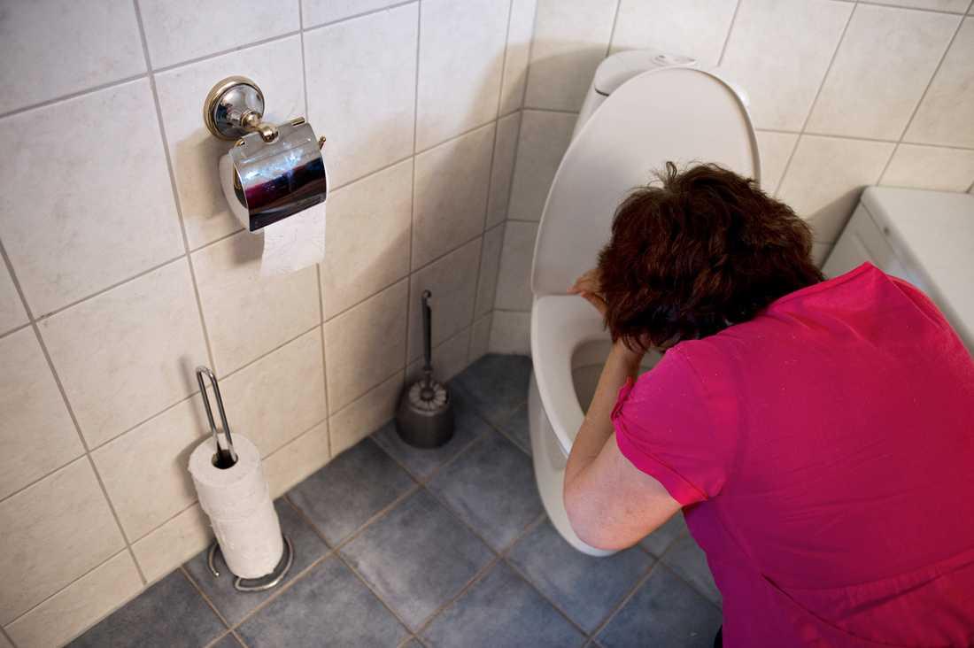 Tvätta händerna ofta så kanske du slipper detta. Arkivbild.