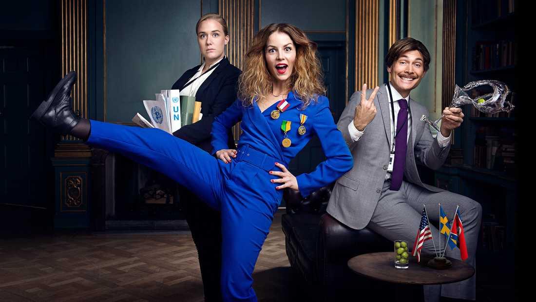 """Den andra säsongen av """"Dips"""" har premiär den 13 november. Pressbild."""