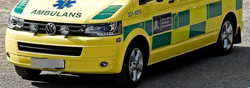 OBS! Ambulansen på bilden har inget samband med händelsen i artikeln.