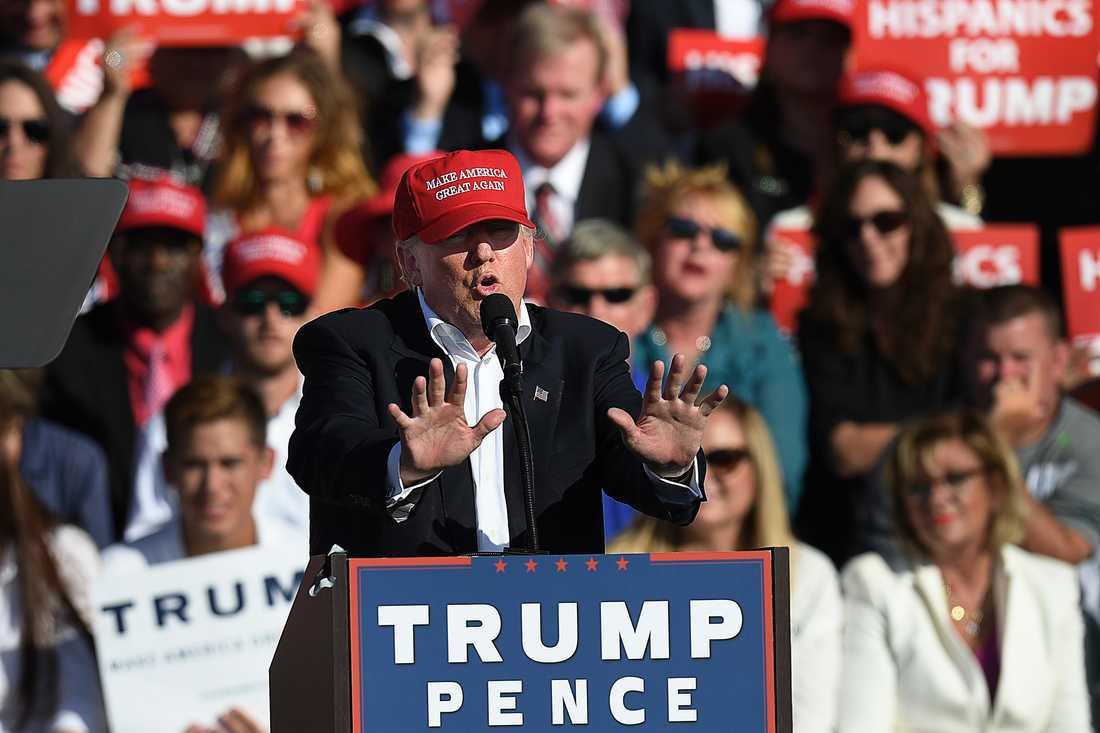 """""""Make America great again"""" var budskapet som Donald Trump trummade ut till det amerikanska folket i valrörelsen."""
