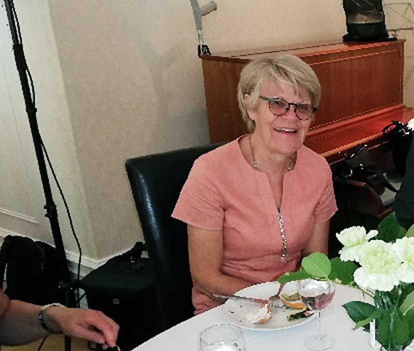 Iréne Linddahl sitter i ledningsgruppen för Kyrkstödet, som hjälper EU-migranterna.