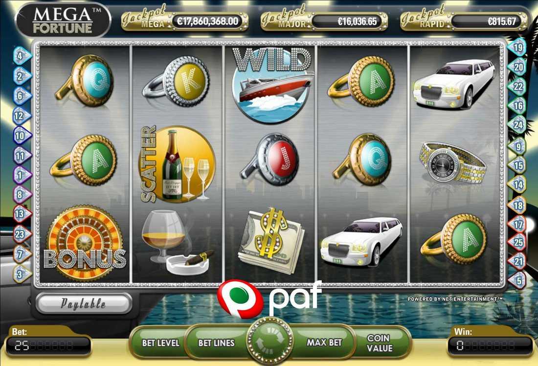 Spelaren tog hem 154 miljoner kronor på Mega Fortune.