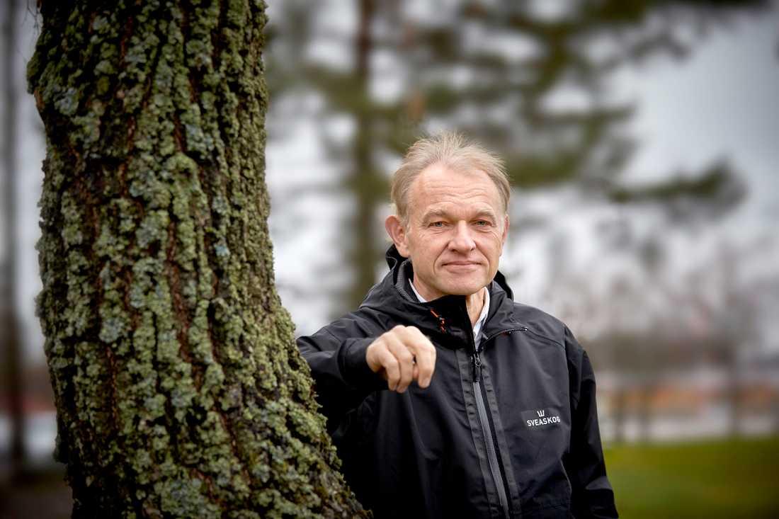 Olof Johansson är skogspolitisk chef på Sveaskog.