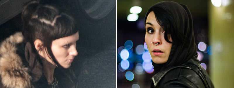 Salander x2 Rooney Mara och Noomi Rapace.