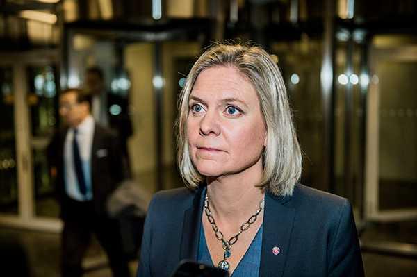 """Finansminister Magdalena Andersson säger att beslutet """"är en svensk seger""""."""