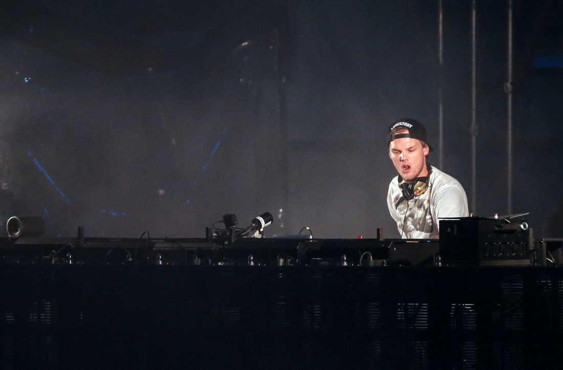Avicii uppträder på Summerburst i Göteborg 2015.