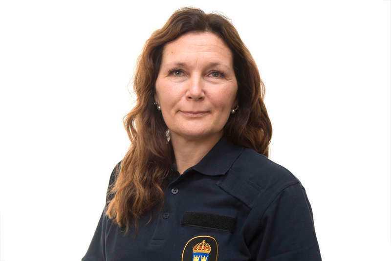 Carina Skagerlind vid Stockholmspolisen säger att man är förberedda på folksamlingar.