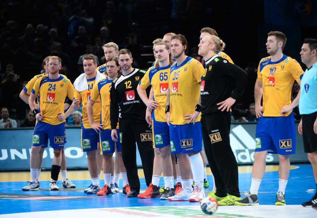 Svenska spelarna deppar.