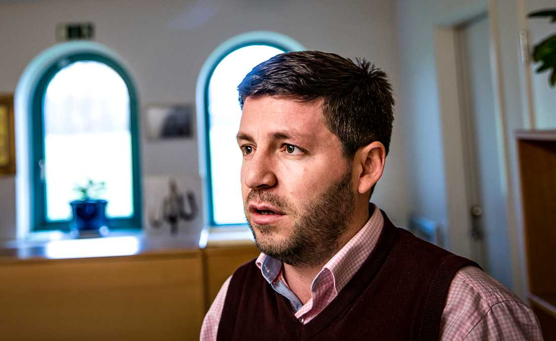Roland Vishkurti, imam vid Islamic center i Malmö.