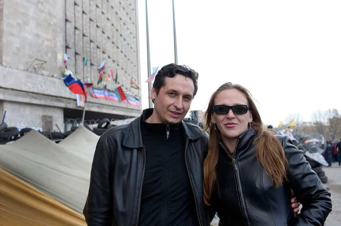 Nikoloy  och Oksana Martyuov.