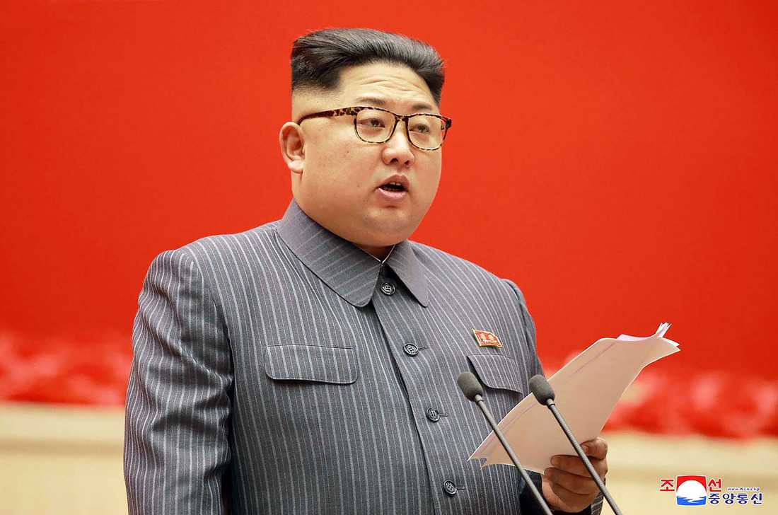 Nordkoreas diktator Kim Jong-Un.