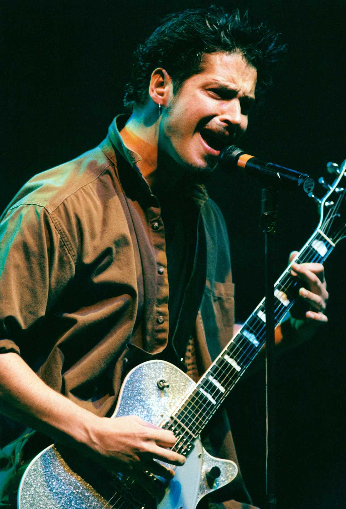 Chris Cornell i Soundgarden spelade i Globen 1994.