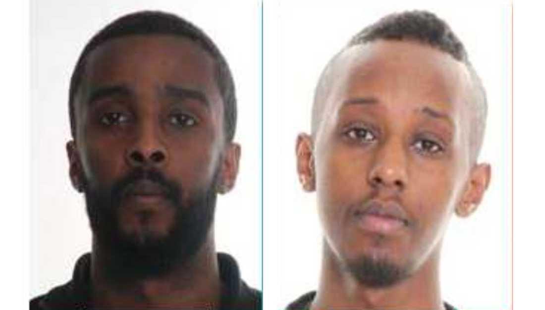 Adam Abdulahi, 28, och Ahmed Warsame, 25.