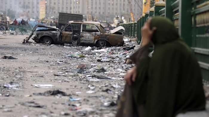 Ett lugn vilar över Kairo tidigt på fredasgsmorgonen. men senare i dag väntas ytterligare en miljondemonstration.