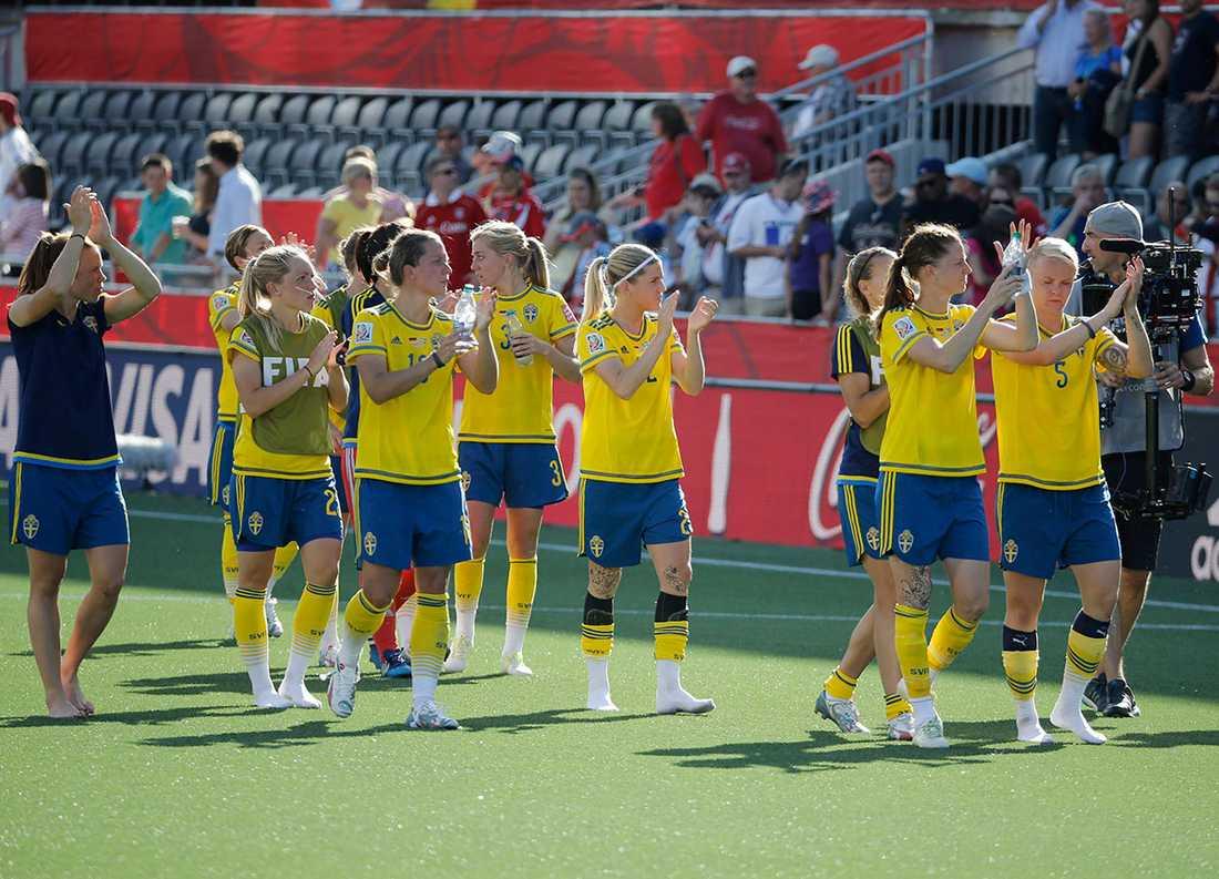 Damlandslaget åkte ut mot Tyskland i åttondelsfinalen – med bara en spelare med utländsk bakgrund i truppen.