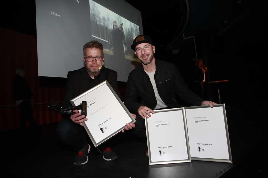 Lars Dareberg och Magnus Wennman
