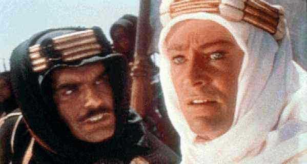 Lawrence av Arabien.