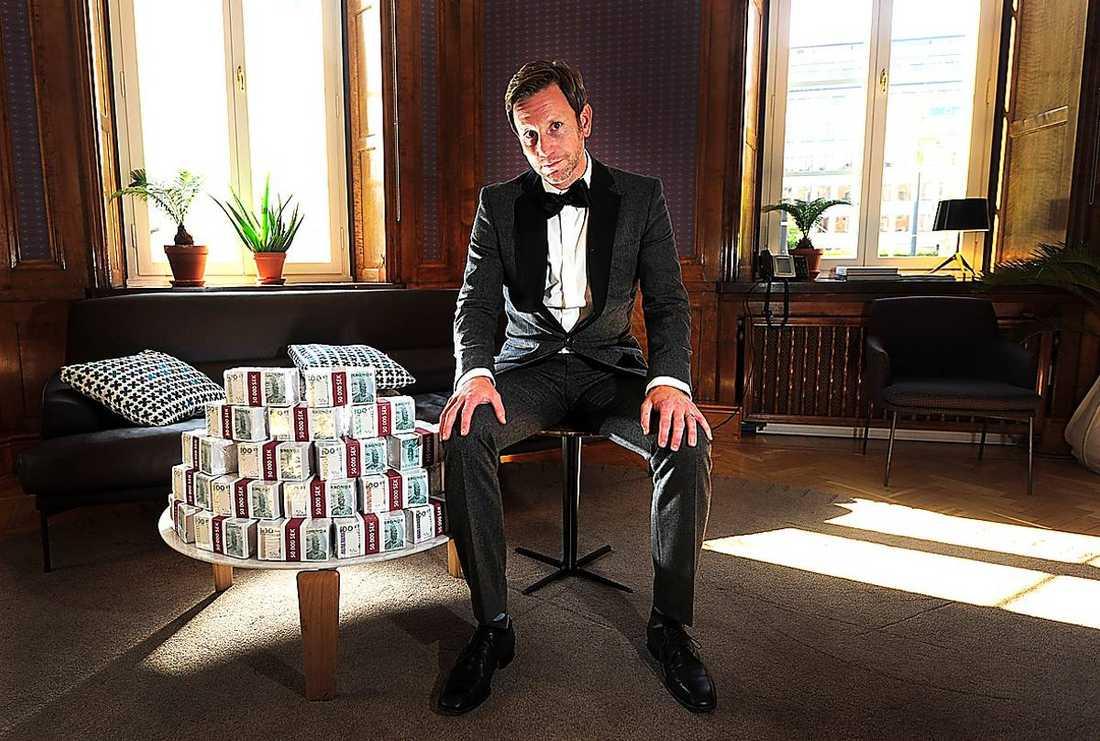 Pengarna på bordet  Kostnad: 10 miljoner Tittarsiffra: 771 000