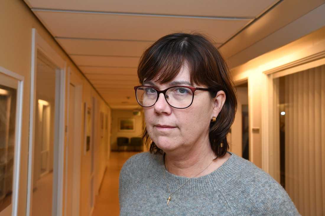 Pia Näsvall, chefläkare i Region Norrbotten.