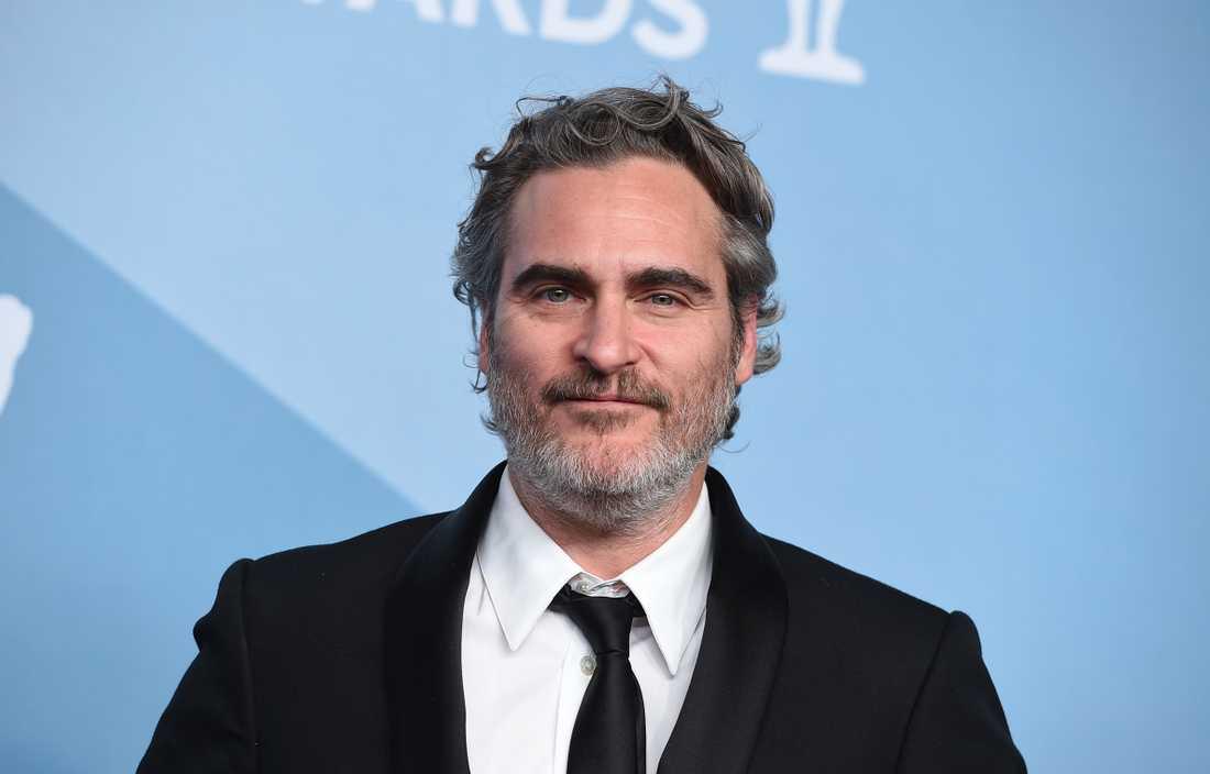 Joaquin Phoenix vann pris som bästa manliga huvudroll för rollen som Joker. Arkivbild.