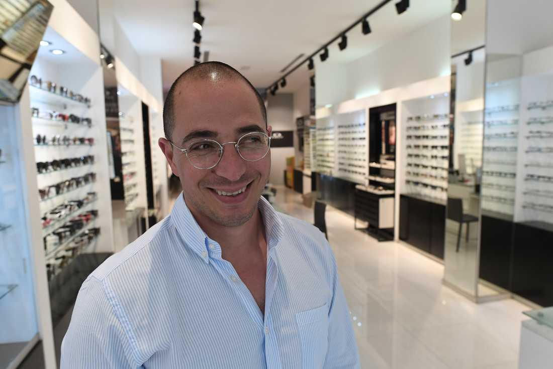 """Erez Elbaz, optiker: """"Israel kommer aldrig att ge Jerusalem till palestinierna."""""""