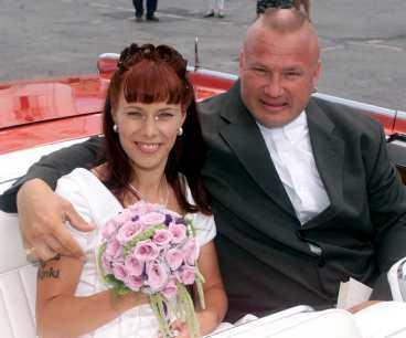 1999 gifte sig Halme med Katja, nu 27 år. I juli i år sköt han mot henne.