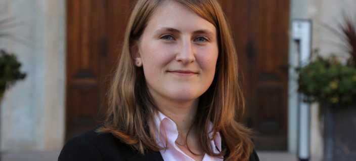 Jessica Ohlson, 23 år från Uppsala, är ny förbundssekreterare i Sverigedemokratisk Ungdom