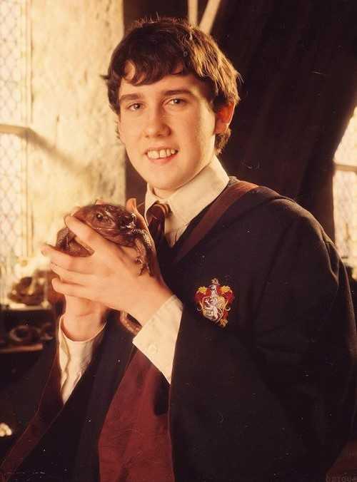 Matthew Lewis i rollen som Neville Longbottom.