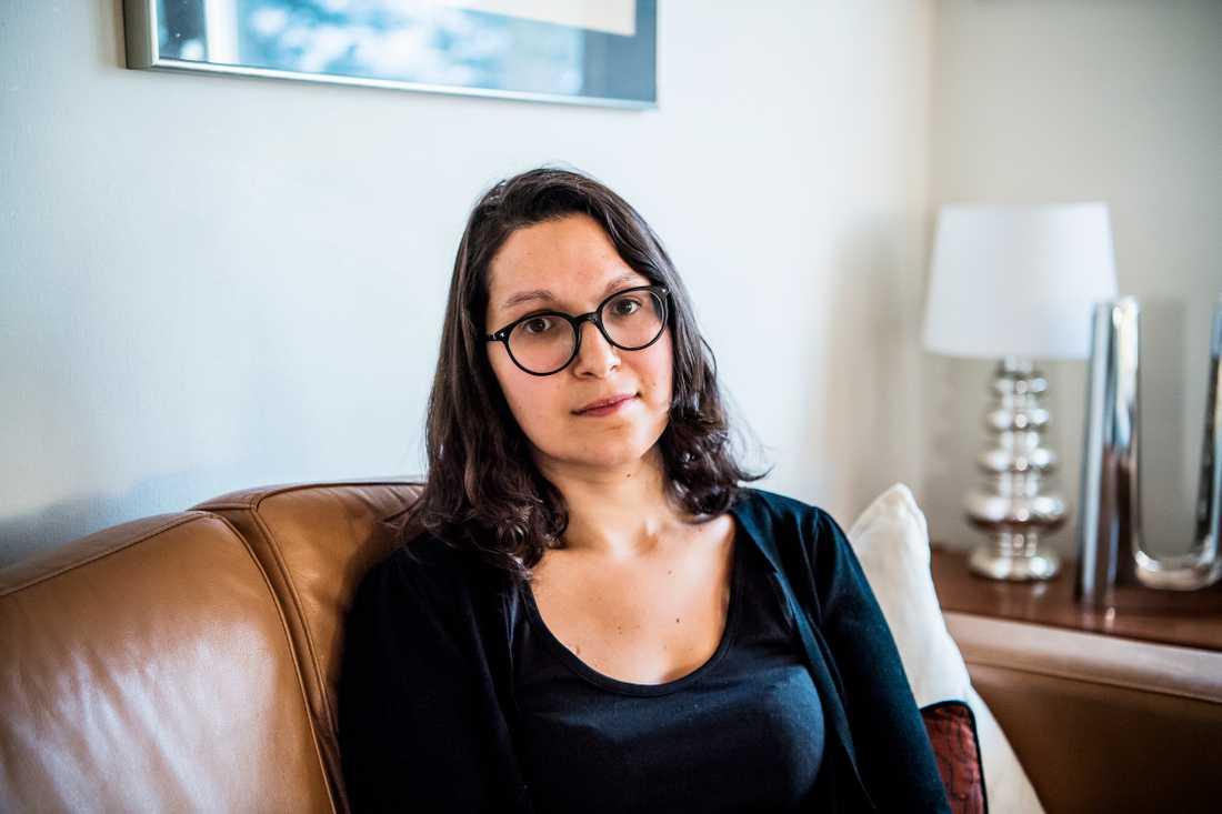 Stephanie förlorade minnet efter ett rutiningrepp på Karolinska sjukhuset i Huddinge i april.