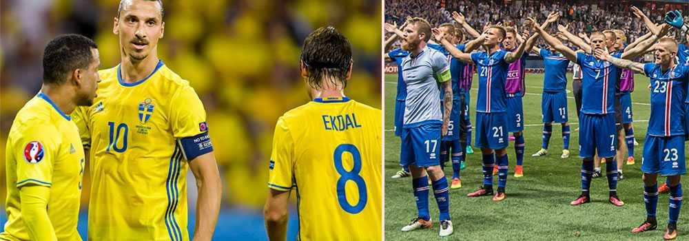 Island 18 placeringar före Sverige på världsrankingen