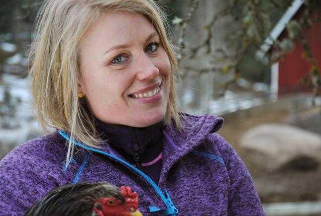 Therese Tengmark, 39 år, ekologisk nötbonde från Malexander