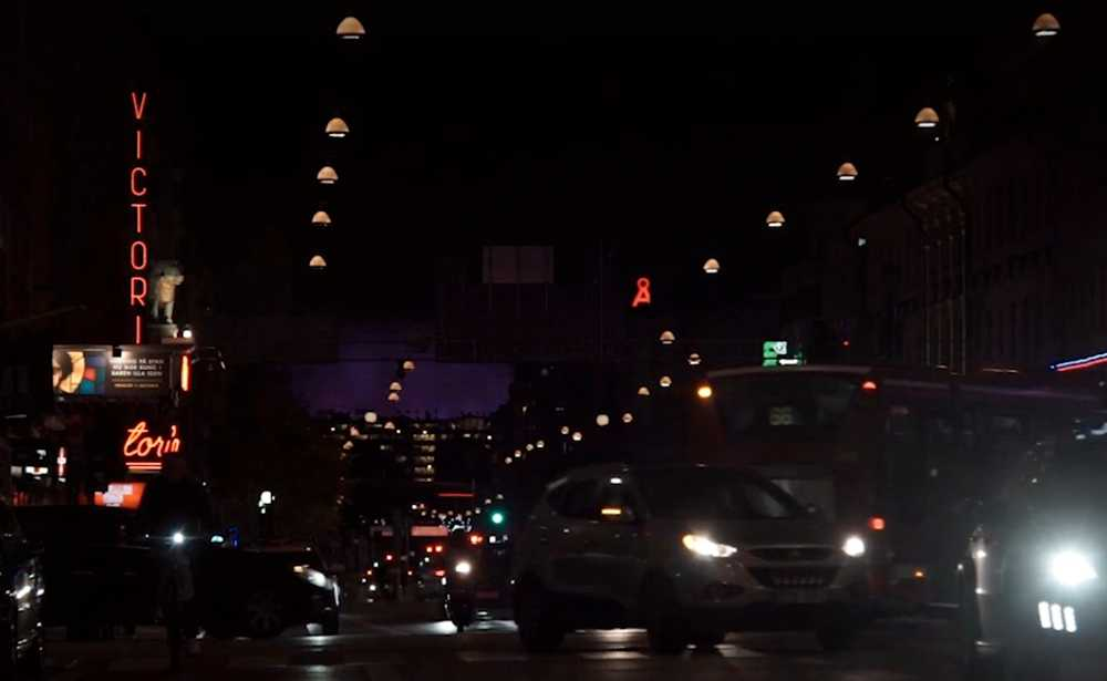 Nichole åkte taxi hem efter en krogkväll i Stockholm.