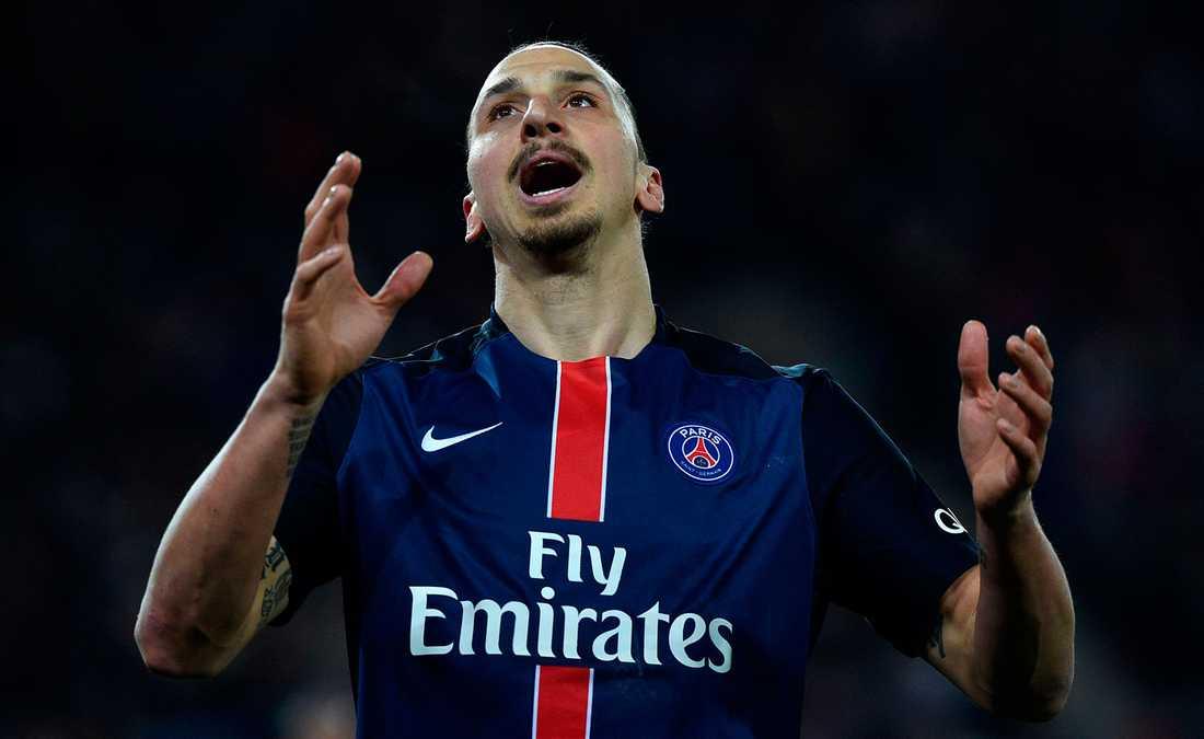 Zlatan Ibrahimovic spelade hela matchen men blev mållös.