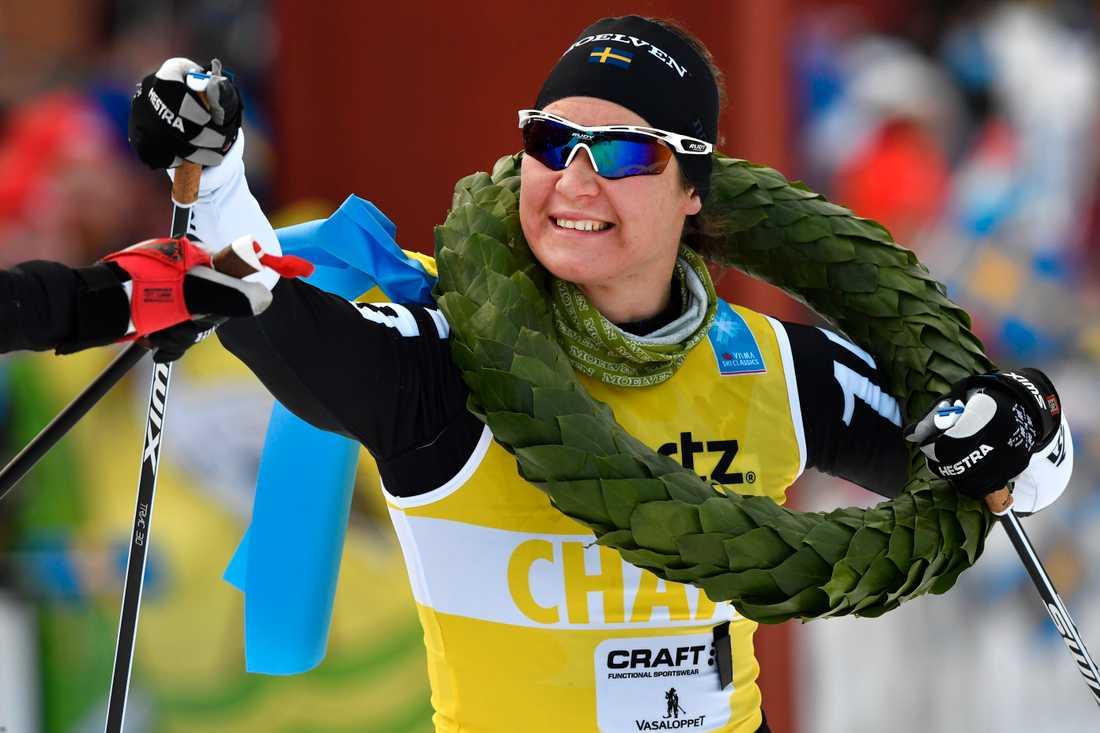 Britta Johansson Norgren tog sin 17:e seger i långloppscupen.